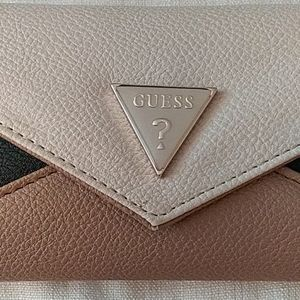 Guess Tri Color Wallet NWT